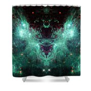 Life And Death Of Stars 2 Shower Curtain