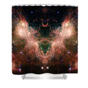 Life And Death Of Stars 4 Shower Curtain