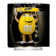 Life And Times Of Big M Shower Curtain