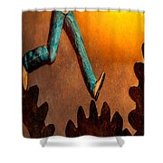 Life Shower Curtain by Bob Orsillo