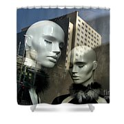 Life For Sale - Conceptual Shower Curtain
