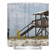 Life Guards On Duty Shower Curtain