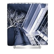 Life In Glass Mono 3 Shower Curtain