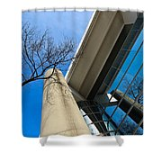 Life In Glass Shower Curtain