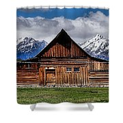 T A Moulton Barn Shower Curtain
