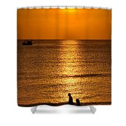 Life Is Beautiful Shower Curtain by Adrian Evans