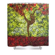 Life Is But A Dance Shower Curtain