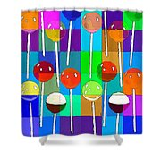 Life Is Full Of Lollipops Shower Curtain