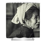 Life Is Life  Shower Curtain