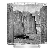 Life Isn't Black And White Shower Curtain