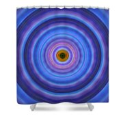 Life Light - Abstract Art By Sharon Cummings Shower Curtain