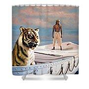 Life Of Pi Shower Curtain