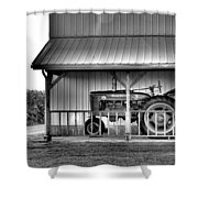 Life On The Farm Shower Curtain