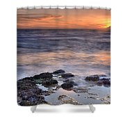 Life On The Rocks Shower Curtain