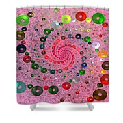 Life Savers Shower Curtain by Sandy Keeton