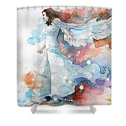Life The Universe And Everything Shower Curtain
