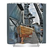 Lifeboat Shower Curtain