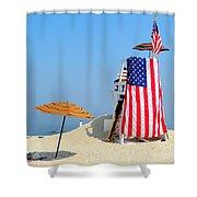 Lifeguard 9-11 Tribute Shower Curtain