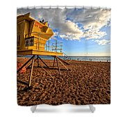 Lifeguard Off Duty Maui Hawaii Shower Curtain