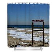 Lifeguard Off Duty Shower Curtain