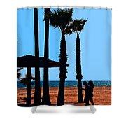 Life's A Beach Shower Curtain