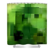 Life's Color Shower Curtain