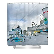 Lifesavers Shower Curtain