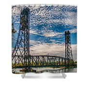 Lift Bridge 3d21789 Shower Curtain
