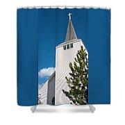 Lift High The Cross Shower Curtain