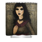 Ligeia Shower Curtain