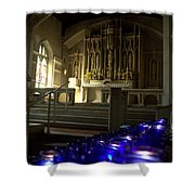 Light A Candle Shower Curtain
