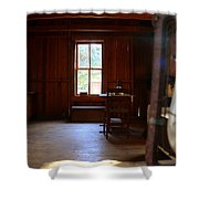 Light And Cabin Shower Curtain