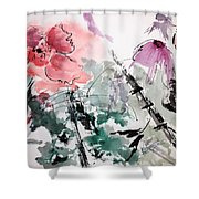 Light And Easy Shower Curtain