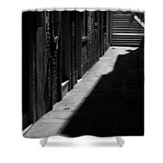 Light And Shadow - Venice Shower Curtain