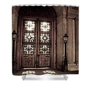Light And Shadows In Paris Shower Curtain
