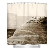 Light Around The Curve Shower Curtain