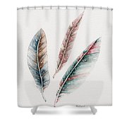 Light As A Feather Shower Curtain