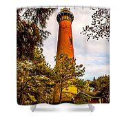 Light At Currituck Shower Curtain