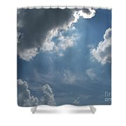 Light Beyond By Diane Schiabor Shower Curtain
