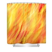 Light Branches Shower Curtain