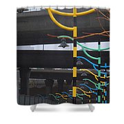Light By Another Color Shower Curtain