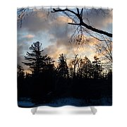 Light Coming Shower Curtain