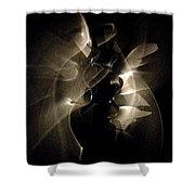 Light Dancers Shower Curtain