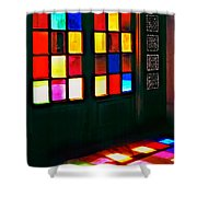 Light Entrance Shower Curtain