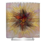 Light Gate - Square Version Shower Curtain