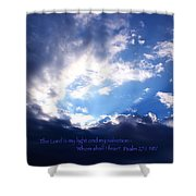 Light II Shower Curtain