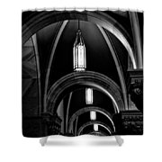 Light In The Basilica Shower Curtain