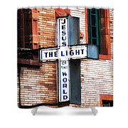 Light In The City Shower Curtain