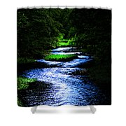 Light In The Creek Shower Curtain