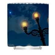 Light In The Night Shower Curtain